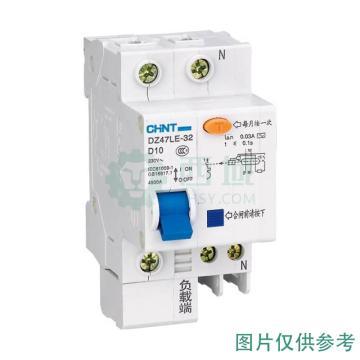 正泰CHINT 微型剩余电流保护断路器 DZ47LE-63 4P 60A D型 30mA AC