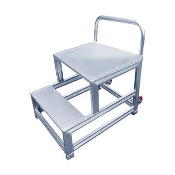 Raxwell 铝合金踏台,总高(m):0.6,2个阶梯,RMLS0007