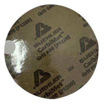 标乐 金相砂纸,带背胶,8',φ200mm,800#,100片/盒,36-08-0800