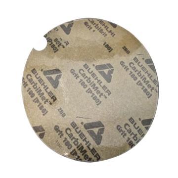 标乐 金相砂纸,带背胶,10',φ250mm,280#,100片/盒,36-10-0280