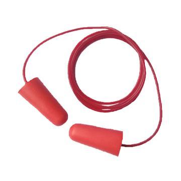 代尔塔DELTAPLUS 一次性耳塞,103106,CONICCO200 子弹型PU发泡材质 带线,1副(200的倍数下单)