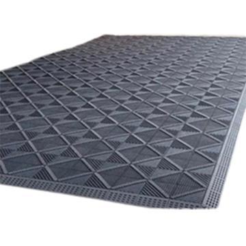 万马 除尘防滑垫,150mm*15mm方块组合型,25mm加厚,平方米