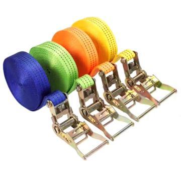 西域推荐 捆绑带,带拉紧器,带钩子,1.5m*38mm,材质:涤纶;颜色可选蓝色/绿色/橘色/黄色