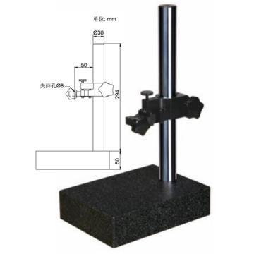 GERMES 大理石平台架(含第三方检测报告)150×200×60mm,轴套孔径:8mm、精度:00级,GM50-52200