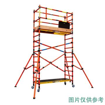长谷川 ZFG绝缘脚手架,全高297cm,额定载重:225kg,耐电压22000V,作业平台高度:高1.91m