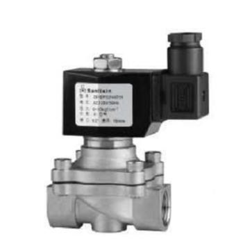 """三力信 电磁阀,ZS1DF02N4E20 DN20 连接尺寸3/4"""" 电压AC220V 适用介质:水、空气 压力1MPa"""