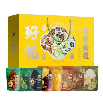禾煜 坚果美煜礼盒1364款(2021年炒货系列),1364g