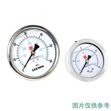黎明液压 耐震油浸式压力表 YN-100-IV 0-40Mpa