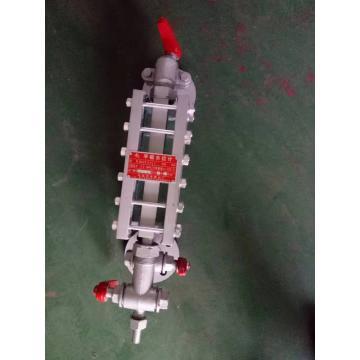 慈溪市液面计厂 单色水位计,B42X/2.5-L440mm,带上下两端阀门