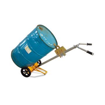 Raxwell 450Kg2轮型油桶搬运小车,Φ250橡胶大轮(拆卸发运客户自行安装),RHMC0069