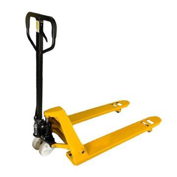 Raxwell 标准型手动液压搬运车,载重(T):3,尼龙轮,货叉宽度(mm):550,货叉长度(mm):1150