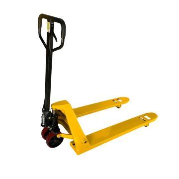 Raxwell 标准型手动液压搬运车,载重(T):2,PU轮,货叉宽度(mm):550,货叉长度(mm):1150
