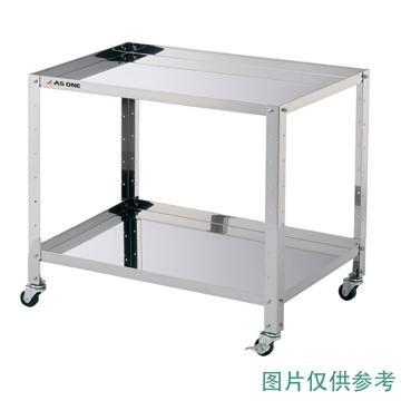 亚速旺 实验室专用推车(两层),不锈钢材质(高洁净度),带外框普通2层,3-1556-01
