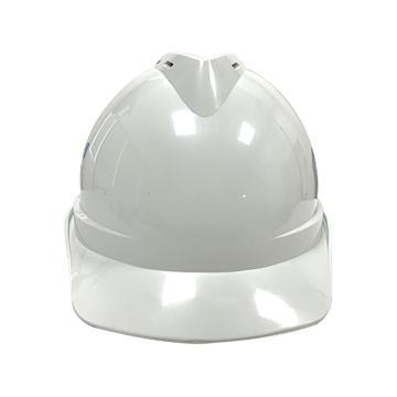 Raxwell Victor安全帽,白色,耐低温电绝缘阻燃,8点式锁扣,ABS,RW5102