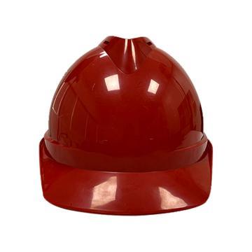 Raxwell Victor安全帽,红色,耐低温电绝缘阻燃,8点式锁扣,ABS,RW5101