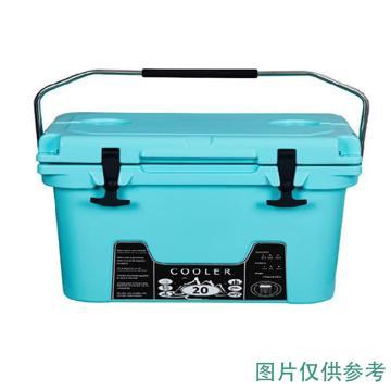 威佳 冷藏箱,45L、绿色、LLDPE/PU,WGTB6845