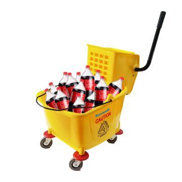 Raxwell 加厚单桶榨水车,32L RJTW0001 单位:个
