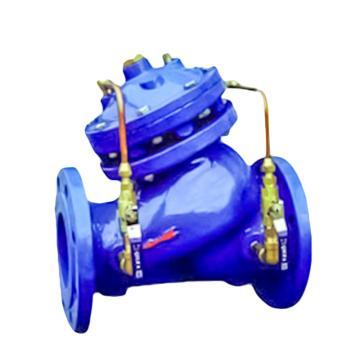 上海阀门厂 WCB法兰多功能水泵控制阀门,JD745X-25C DN65