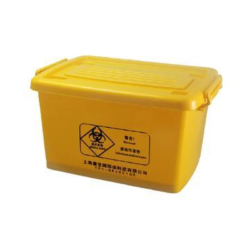 探索精选 周转箱 100L 黄色,TS095-020,1只