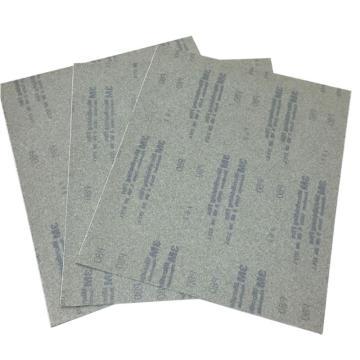 3M 272L自贴式线基砂磨片,背胶,英国版,300×350MM,80#