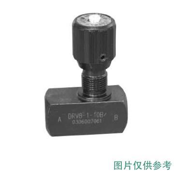 华德液压 管式节流阀,DRV40-1-10B/2