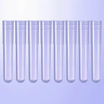 泰坦 1.2mL 样品管,透明,8联排,袋装,低吸附,YP0012-8-B-LB-ZX,1箱(125条/袋,10袋/箱)