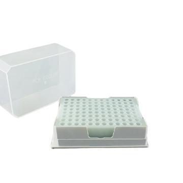 探索精选 PCR低温指示冰盒 -21℃ 96孔 适用于0.2ml和0.5ml 离心管,TS085-9621,1个