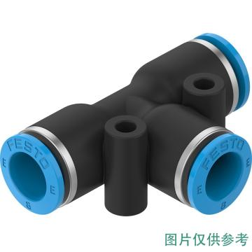 费斯托 8mm气管外径转2*8mm气管(T型),NPQE-T-Q8-E-P10