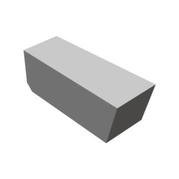 株洲钻石 硬质合金焊接刀片,C305 YG8